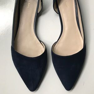 Cole Haan D'orsay Pointed Toe Flats